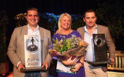 Günther Maters en Linda Kuipers van Koeltrans Angeren Ondernemer van het Jaar 2019